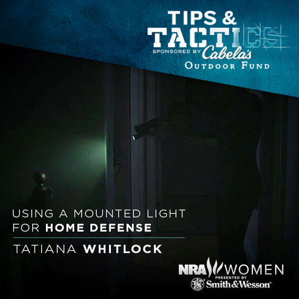 Using a Mounted Light Home Defense