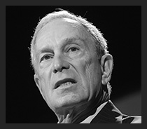 Anti Gun millionare Michael Bloomberg