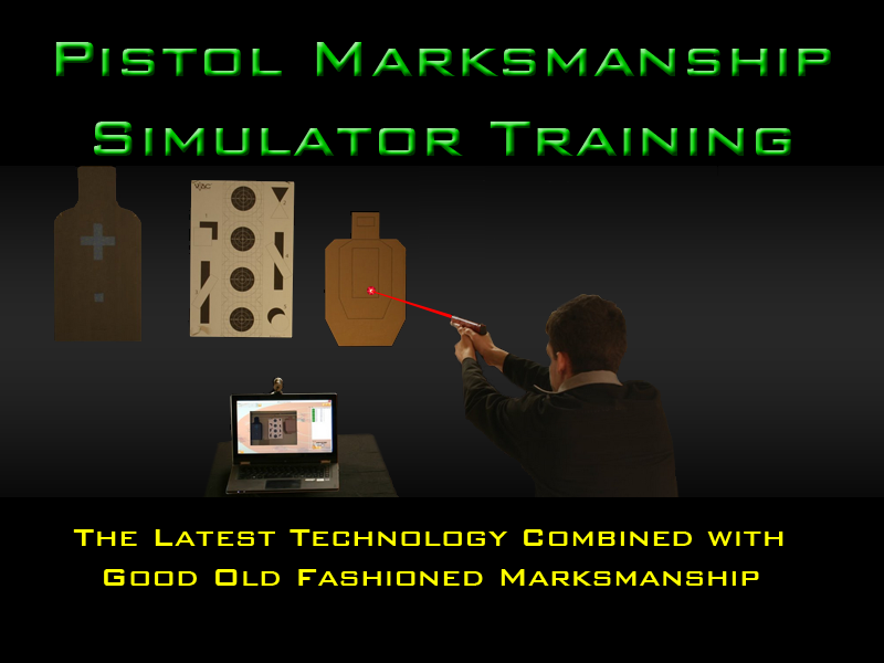 New Laser Pistol Training