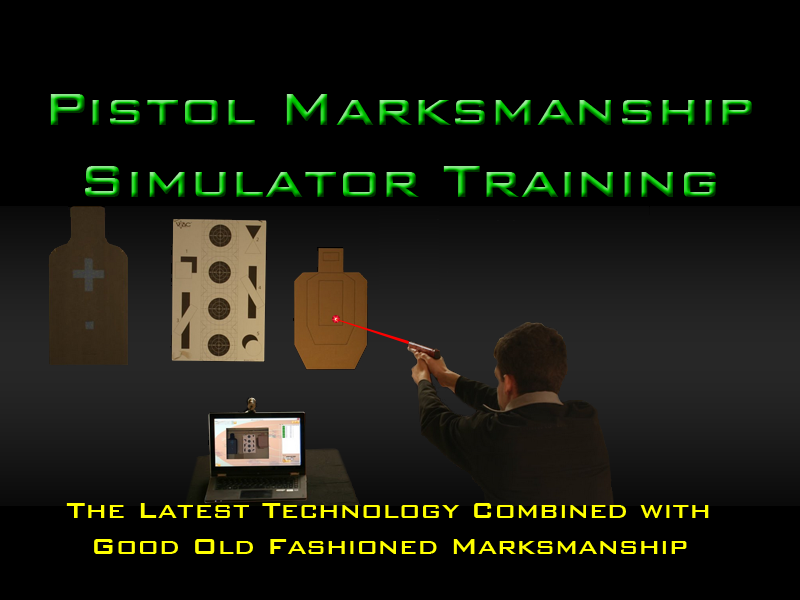 Laser Pistol Training