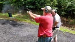 Jim Sheckels shooting the NRA CCW